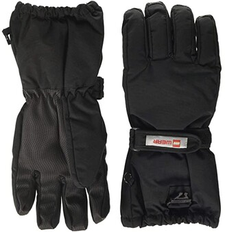 Lego Snow Gloves with Thinsulate Insulation (Little Kids/Big Kids) (Black) Over-Mits Gloves