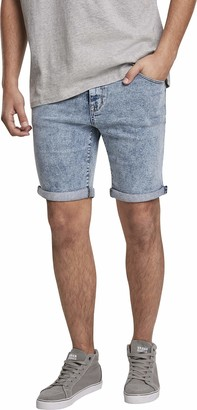 Urban Classics Men's 5 Pockets Slim Fit Kurze Hose Denim Shorts