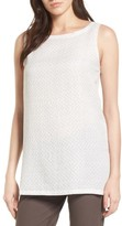 Eileen Fisher Women's Long Organic Cotton Tank