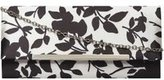Dorothy Perkins Womens **Lily & Franc Black And White Printed Clutch- Black