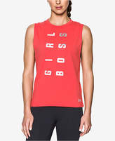 Under Armour Charged Cotton Girl Boss Tank Top