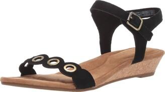 Koolaburra by UGG Women's Leira Heeled Sandal black 12 B US