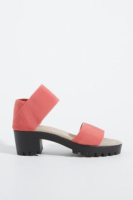 Brenda Block-Heeled Sandals By Charleston Shoe Co. in Black Size 6