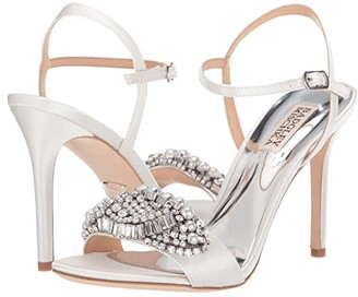 Badgley Mischka Odelia (Soft White) High Heels