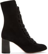 Chloé Black Suede Harper Boots