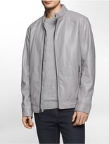 Calvin Klein Faux Leather Smooth Jacket