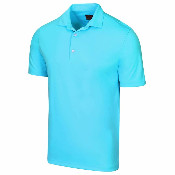 Thumbnail for your product : Greg Norman Mens Protek ML75 2Below Plain Polo Shirt - White - M
