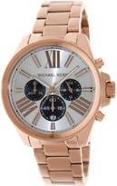Michael Kors Wren Chronograph MK5712 Women's Wrist Watches, Dial