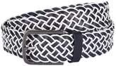 HUGO BOSS Leather Braided Belt