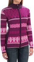 Obermeyer Jodi Ski Cardigan Sweater - Merino Wool-Acrylic (For Women)
