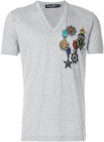 Dolce & Gabbana medal print T-shirt
