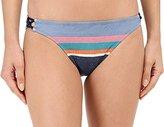 Sperry Sider Women's Island Time Ikat Reversible Hipster Bikini Bottom