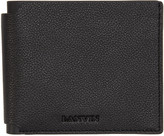 Lanvin Black Leather Wallet
