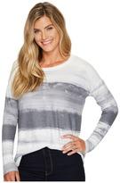Tribal Long Sleeve Jersey Scoop Neck Top Women's Long Sleeve Pullover