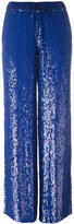 P.A.R.O.S.H. sequin wide-leg trousers - women - Viscose/PVC - XS