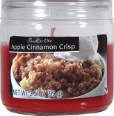 Candlelite Candle-lite Essentials 3-/2-Ounce Apple Cinnamon Crisp Jar Candle