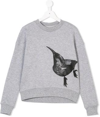 Ioana Ciolacu Kids Bird Print Sweatshirt