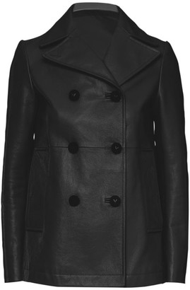Valentino Leather Coat