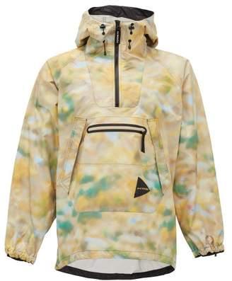 BEIGE And Wander - Hooded Camouflage-print Winbreaker Jacket - Mens