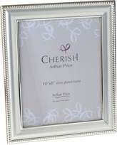 Arthur Price Silver Plated Bead Photograph Frame 8x10