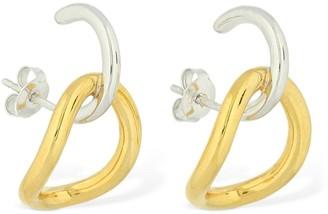 Charlotte Chesnais Inner Naho Two Tone Earrings