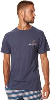 rhythm Vacation Mens T Shirt Blue