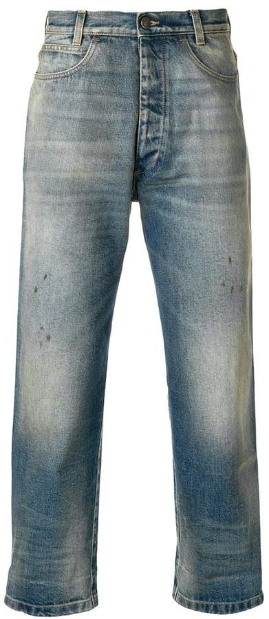 Gucci stonewashed jeans