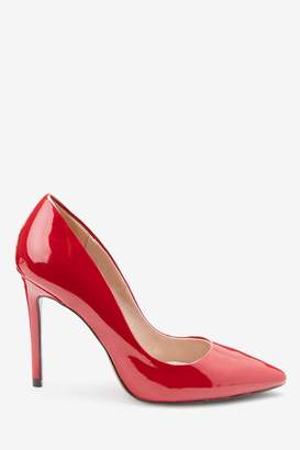 Next Womens Red Forever Comfort Point Court Shoes - Red
