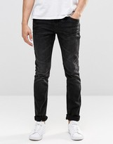 Blend of America Jeans Cirrus Skinny Fit Stretch in Washed Black