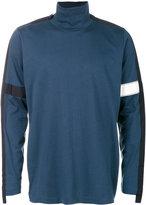 Oamc stripe detail turtle neck sweater