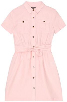 Loro Piana Kids Jemma linen shirt dress