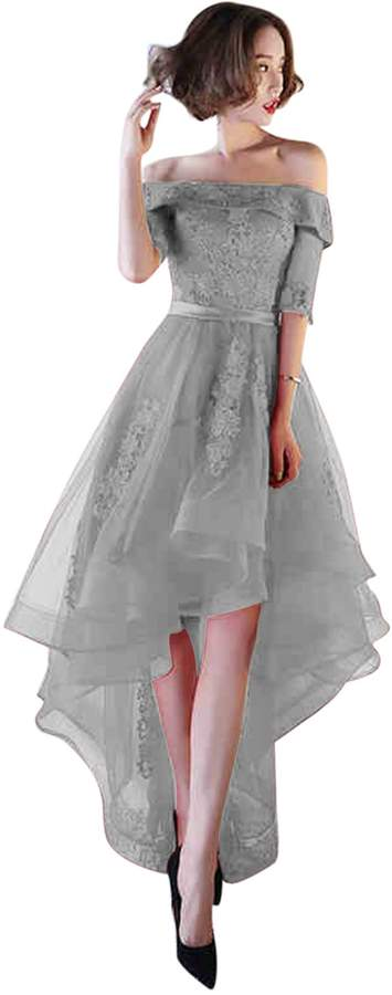 09f74bc575e1 Grey Prom Dresses - ShopStyle Canada
