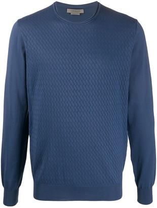 Corneliani Textured Knit Jumper