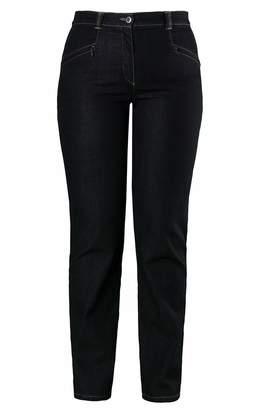 Ulla Popken Women's Stretchjeans Mony N Slim Jeans