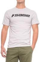 Sage Logo T-Shirt - Crew Neck, Short Sleeve (For Men)