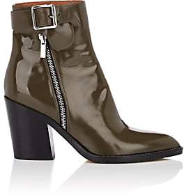 Derek Lam Women's Easton Leather Ankle Boots - Olive