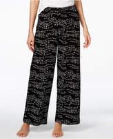 Hue Script-Print Pajama Pants