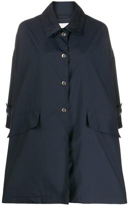 MACKINTOSH Humbie cropped sleeve coat