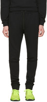 Pyer Moss Black Tattered Lounge Pants