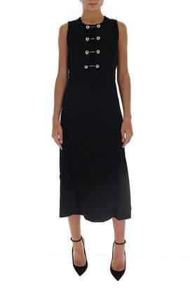 Proenza Schouler Embellished Detail Flared Dress