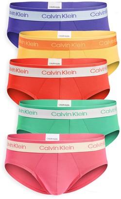 Calvin Klein Underwear Pride Edit Cotton Stretch 5 Pack Hip Briefs