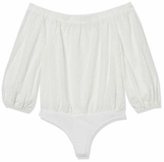 ASTR the Label Women's Off-The-Shoulder 3/4 Sleeve Elodie Bodysuit