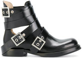 Diesel buckled cut out boots