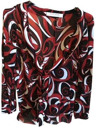Miu Miu Red Top for Women