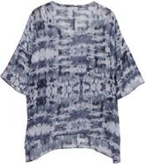 American Vintage Printed silk-chiffon top