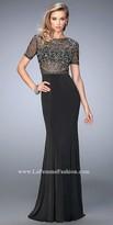 La Femme Sherry Jersey Prom Dress