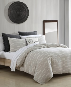 ED Ellen Degeneres Textured Geo 3 Piece King Comforter Set Bedding