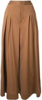 Puma Maison Yasuhiro pleated wide-leg trousers
