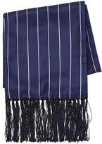 Topman Navy Pinstripe Dress Scarf