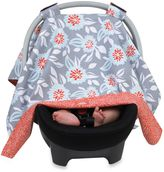 Balboa Baby Car Seat Canopy in Grey Dahlia